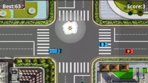 Traffic Rush crash