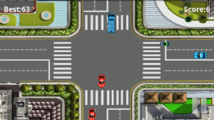 Traffic Rush game screen