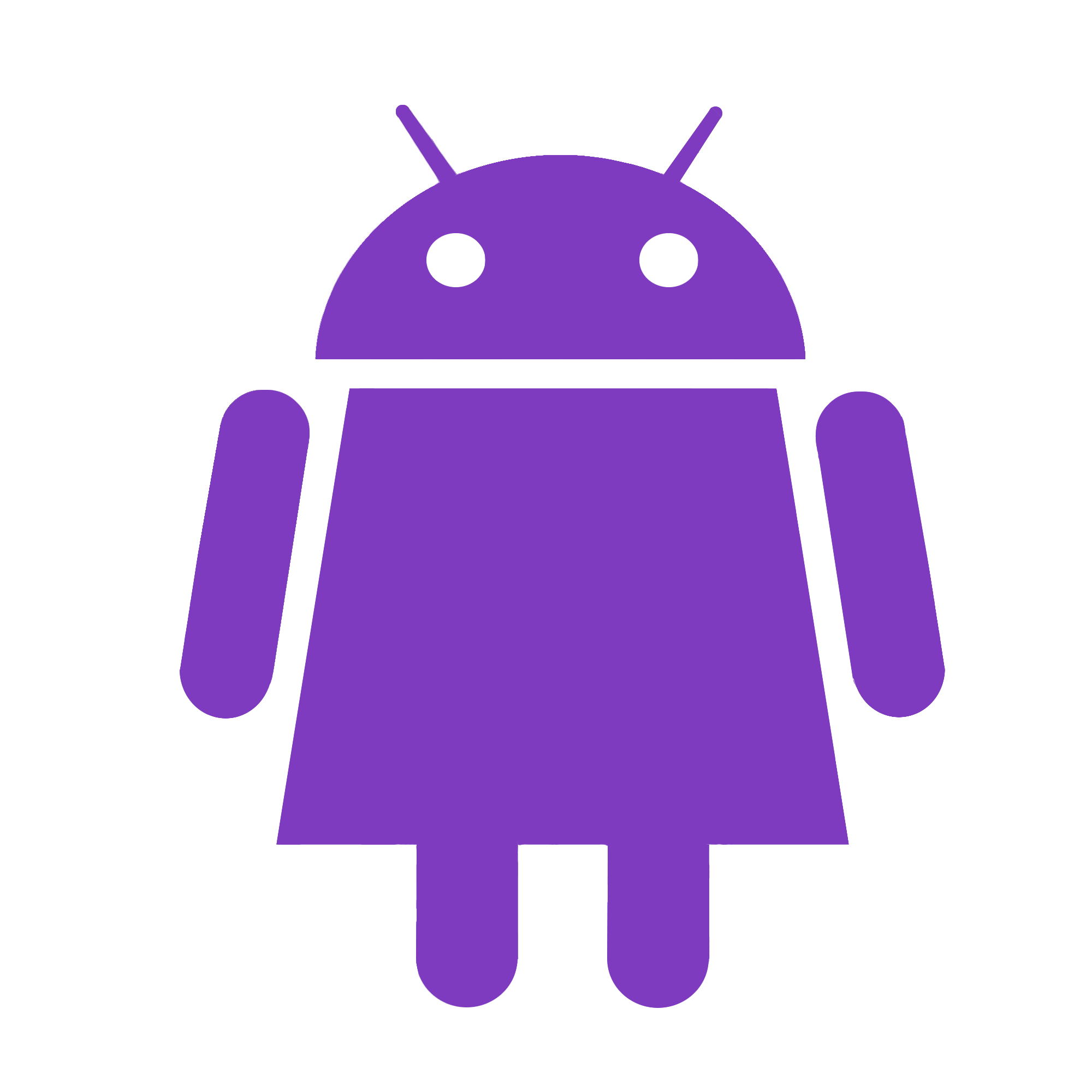 how to change the android logo